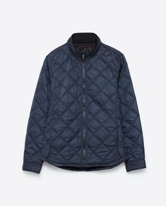 Image 8 of QUILTED OVERSHIRT from Zara 3918/300