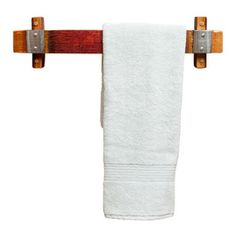 Banded Barrel Stave Towel Rack -Small