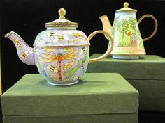 Mini teapot keepsake boxes