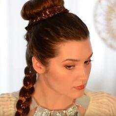The Best Star Wars Hair and Makeup Beauty Tutorials | POPSUGAR Beauty UK #starwars #braids