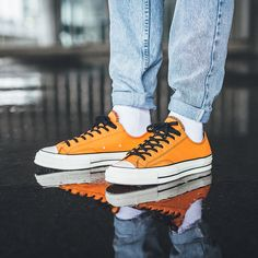 a90a1fddaa0 CONVERSE CTAS 70 OX LOW VINCE STAPLES VIBRANT ORANGE 161254C