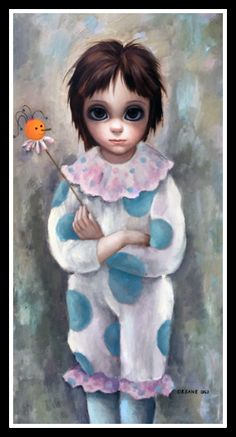 """""""The Young Clown"""" ~ Margaret Keane, 1962"""