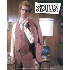 Photo of Napoleon in his sweet suit for fans of Napoleon Dynamite. Napoleon in his brown suit! Napoleon Dynamite, Movies Showing, Movies And Tv Shows, Jon Heder, Brian Johnson, Brown Suits, Young Entrepreneurs, Love Movie, You Are Awesome