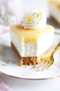 No bake citroncheesecake Baking Recipes, Dessert Recipes, Foods To Eat, Kitchen Stories, Baked Goods, Sweet Tooth, Cake Decorating, Bakery, Food Porn