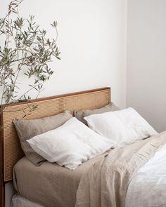 Home Interior Design .Home Interior Design Interior Design Minimalist, Minimalist Bedroom, Minimalist Bed Linen, Home Bedroom, Bedroom Decor, Bedroom Ideas, Bedroom Signs, Bedroom Styles, Kids Bedroom