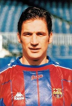 Juan Antonio Pizzi, born 7 June 1968, Spanish striker, Rosario Central (1987-1990), Deportivo Toluca FC (1990-1991), CD Tenerife (1991-1993, 1994-1996), Valencia CF (1993-1994), FC Barcelona (1996-1998), River Plate (1998–1999), Rosario Central (1999-2000), FC Porto (2000), Rosario Central (2001), Villarreal CF (2002). He mainly spent his career in La Liga and amassing top division totals of 221 games and 92 goals over the course of eight seasons. Born in Argentina, Pizzi represented the…
