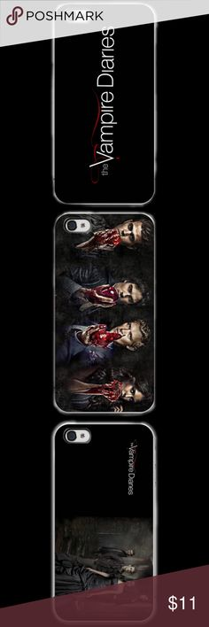 VAMPIRE DIARIES IPHONE 5c 5/5s 6/6s 6/6s+ This a iPhone 5c 5/5s 6/6s 6/6s Plus phone case. It is made of durable hard plastic. Easy snap-on design for a lightweight feel and great phone protection.   PLEASE SPECIFY WHAT SIZE IPHONE AND COLOR OF CASE. 
