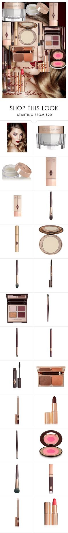 """""""How to create The Vintage Vamp Makeup 