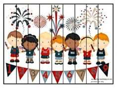 Patriotic Preschool & Kindergarten Pack from Our Country Road  -  Pinned by @PediaStaff – Please Visit http://ht.ly/63sNt for all our pediatric therapy pins