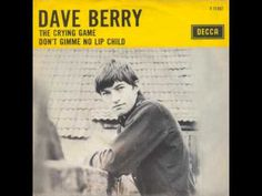 Dave Berry - The Crying Game - YouTube