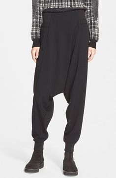 Public School 'Lobo' Crepe Drop Crotch Pants available at #Nordstrom                                                                                                                                                      More