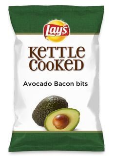 Wouldn't Avocado Bacon bits be yummy as a chip? Lay's Do Us A Flavor is back, and the search is on for the yummiest flavor idea. Create a flavor, choose a chip and you could win $1 million! https://www.dousaflavor.com See Rules.