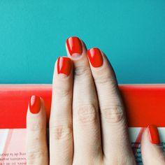#nails #nailart #red