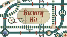 Factory Kit (Retro) #Envato #Videohive #aftereffects