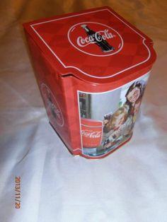 cd32101505af COCA COLA Collectible Tin Flip Top Lid Sisters Coke Merchandise Coca Cola  Bottles