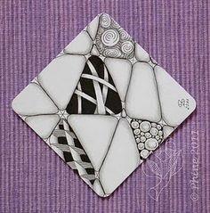 a simple Zentangle