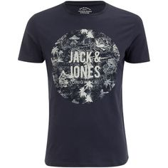 Buy Jack & Jones Men's Originals Newport T-Shirt - Total Eclipse from Zavvi, the home of pop culture. Take advantage of great prices on Blu-ray, merchandise, games, clothing and more! Total Eclipse, Jack Jones, Newport, Men's Clothing, Wardrobe Staples, The Originals, Casual, Mens Tops, T Shirt
