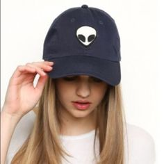 ALIEN PATCH BASEBALL CAP Brand new! NO TRADES Brandy Melville Accessories