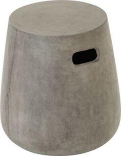 Edson stool, cement