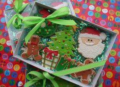 images of present cookies | teacher gift | Cookies