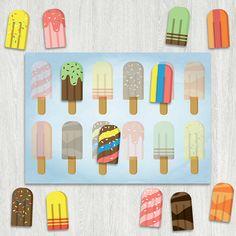 Фруктовое мороженое | print