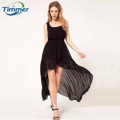 New 2015 Summer Front Short Back Long Sexy Dresses Irregular Chiffon Casual Women Dress Plus Size Party Dresses Vestidos Floral