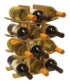 Take a look at this Bamboo Wine Rack on zulily today!