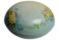 Floral Porcelain Limoges Covered Dish on OneKingsLane.com