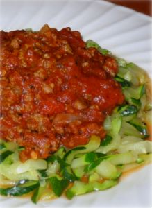 hcg-recipes-zucchini-spaghetti...think i might try this one soon minus any olive oil.