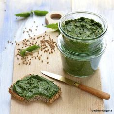 Recette Pâté d'ortie au sarrasin - Top Santé Nettle Recipes, Food Inc, Vegetarian Recipes, Healthy Recipes, Queso, Food To Make, Dairy Free, Brunch, Food And Drink