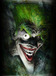 Siempre me ha encantado el Joker y a la vez dado un MIEDO...