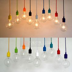 High quality eco friendly multicolour silica gel lamp holder pendant light lamp diy lamps light bulb pendant lamp-inLamp Holder Converters f...