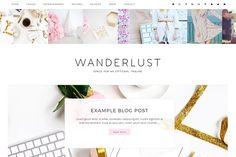 Wanderlust Wordpress Theme - Blog