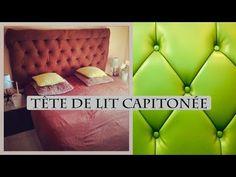 DIY tête de lit capitonnée/ headbord - YouTube