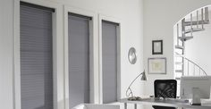 3 Day Blinds Horizontal Sheer Shades - Lightweight shades with textile vanes gently diffuse light with a chic look.