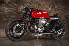 Nick Sharp's Guzzi Le Mans - The Bike Shed