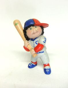 Cabbage Patch Kids Baseball - mini figura 6 cm  (1984)