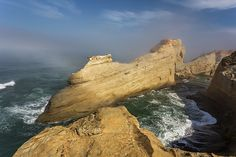 Zen Cove - Cape Kiwanda State Natural Area is a state park in Pacific City, Oregon, United States. Cape Kiwanda is on the Three Capes Scenic Route, which... more by Calazones Flics