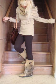 "Image detail for -Mukluk Boots, Pinko Sweaters, Fur Handmade Purses | ""http://eli ..."