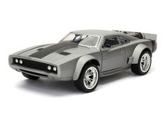 Dom's Ice Charger 1:24 scale diecast model car from The Fast And The Furious movie by Jada. Get it now at GeekingBad for $59.95 with free shipping.
