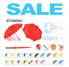GOLF UMBRELLAS - order now ad gift one to your VIP's for Christmas or year end gifting at it's best.  #ChristmasClientGift