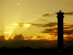 Lonely Lighthouse - Tuticorin, Tamil Nadu