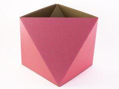 OCTA — recycled cardboard waste paper basket
