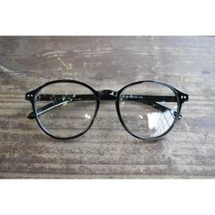 1920s Vintage Classic Eyeglasses Oliver retro 129R88 BLK Fashion eyewear Frames #Unbranded #Round