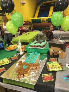 GOING GOBLE: It's a Minecraft Party