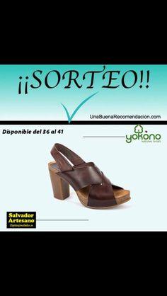 ¡¡¡SUPER #SORTEO ESPECIAL Yokono!!! Consigue estas cómodas e ideales sandalias @YokonoShoes con talla a elegir. ¿A qué esperas? Entra aquí y participa: http://www.unabuenarecomendacion.com/index.php/sorteos/6863-sorteo-sandalias-yokono-natural-shoes