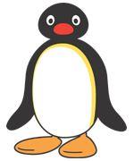 Pingu sign birthday party penguin