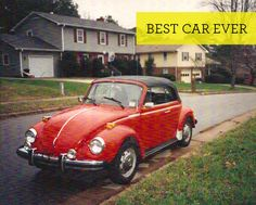 my old 1977 vw super beetle convertible.