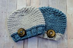 Hey, I found this really awesome Etsy listing at https://www.etsy.com/listing/113917858/baby-hats-beanie-in-blue-and-linen-with