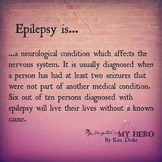 Today, the word epilepsy has taken on a whole new meaning for me and my family; Epilepsy Facts, Epilepsy Quotes, Epilepsy Awareness Month, Epilepsy Tattoo, Epilepsy Types, Temporal Lobe Epilepsy, Epilepsy Seizure, Seizure Disorder, Migraine Relief